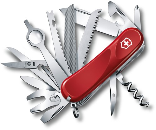 "Victorinox Swiss Army Ranger Multi-Tool, Red, 3.58"" Closed"